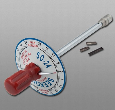 Seekonk S0 24 Vertical Torque Gauge Screwdriver 0 24 In Ozs